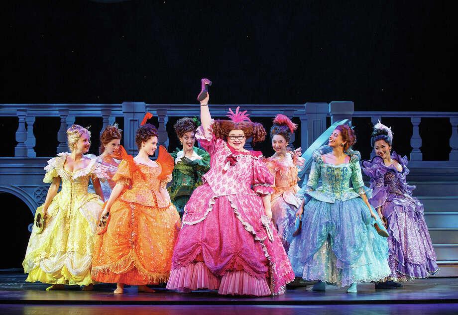 "A scene from Rodgers + Hammerstein's ""Cinderella."""