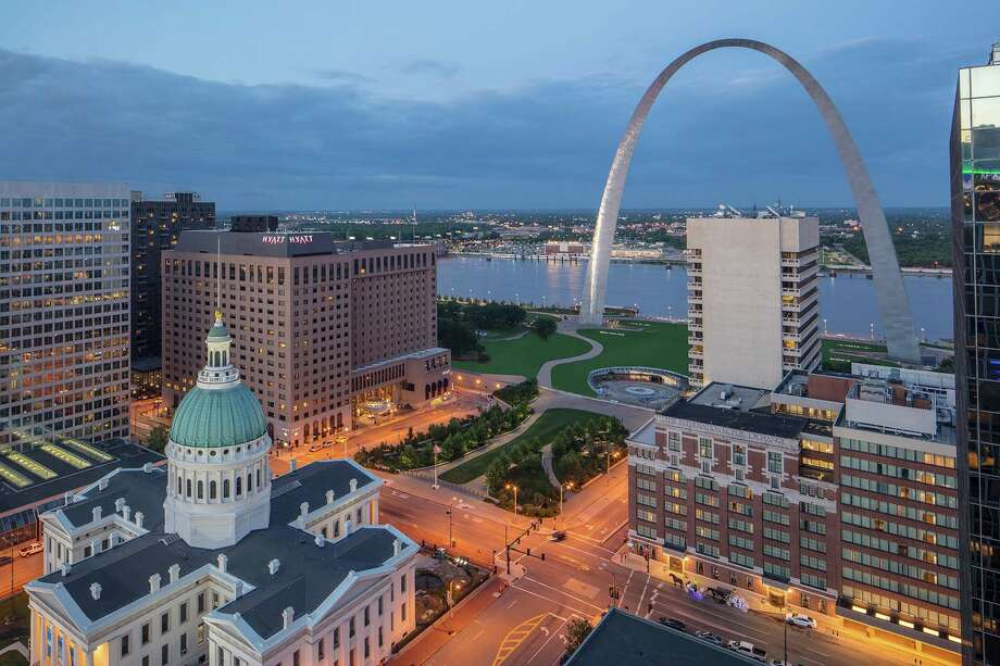 The Hyatt Regency St. Louis at The Arch has been recognized by Conde Naste magazine. Photo: For The Edge