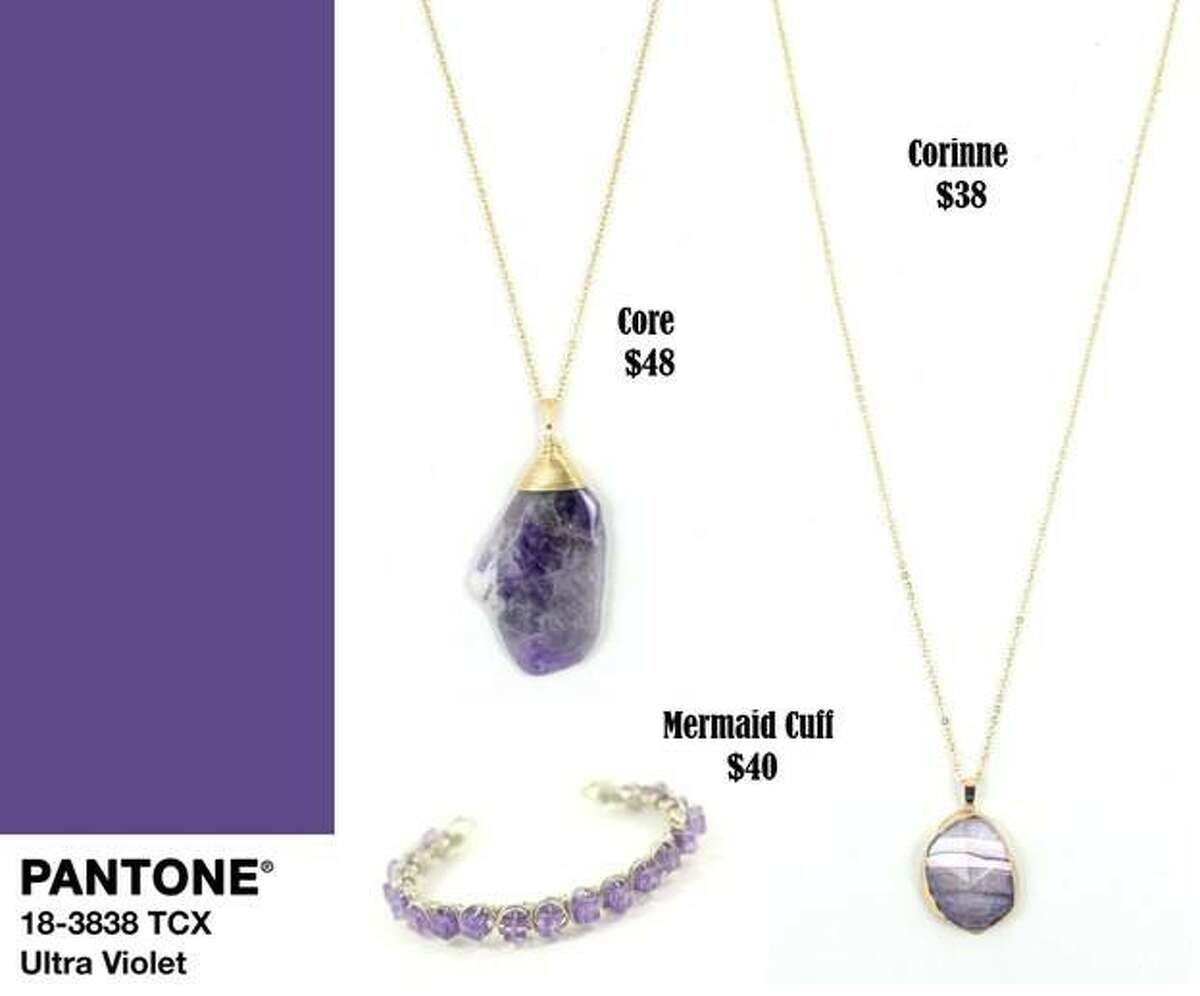 All these violet offerings are available at ArthurAndLivingston.com