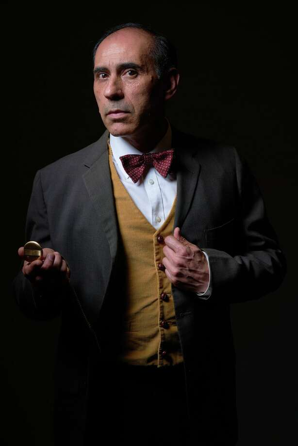 "José Rubén De León will star in ""LORCA"" based on the life of the Spanish poet Federico Garcia Lorca at the TAMIU Fine and Performing Arts Theater today. Admission is free and open to the public. Photo: Laredo Theater Guild International/Courtesy"