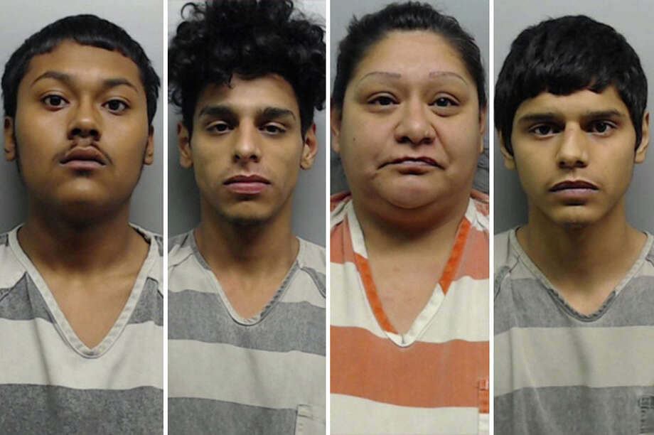 A home raid in a south Laredo neighborhood lead to the arrest of a group of suspected marijuana dealers. Photo: Webb County Sheriff's Office/Courtesy