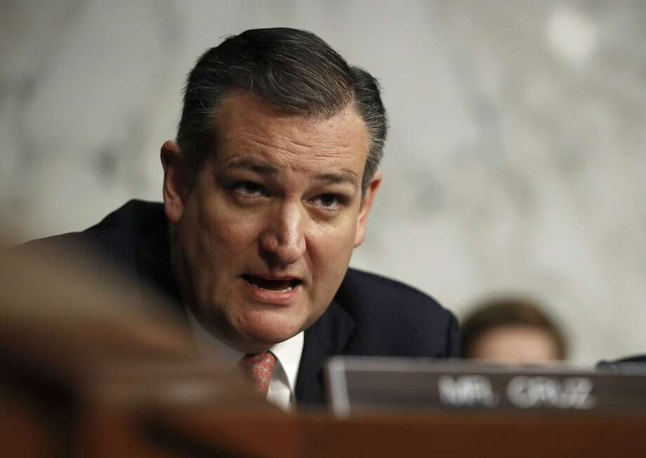 Sen. Ted Cruz, R-Texas, speaks during a Senate Judiciary Committee hearing on Capitol Hill in Washington, Wednesday, Dec. 6, 2017. (AP Photo/Carolyn Kaster) Photo: Carolyn Kaster, Associated Press