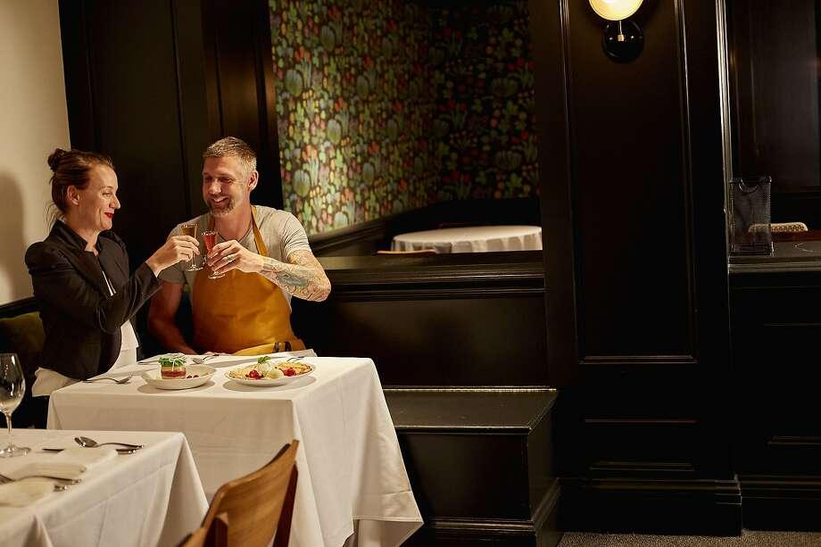 Roberth and AndreaSundell, owners ofPläj Restaurant in San Francisco. Photo: Courtesy�Pl�j Restaurant