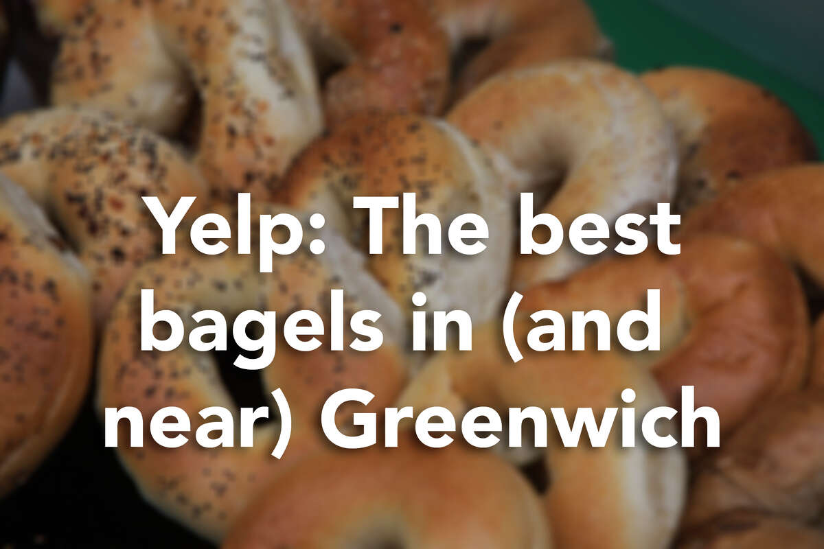 Check out the best places to get a bagel in and near Greenwich, according to Yelp users. Photo:fotog/Getty Images/Tetra images RF
