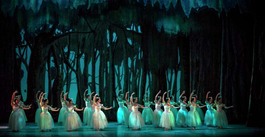 "National Ballet of Cuba will dance ""Giselle"" three nights in June 2018 at the Saratoga Performing Arts Center. Photo: CARLOS QUEZADA, Provided By The Saratoga Performing Arts Center. / CARLOS QUEZADA"