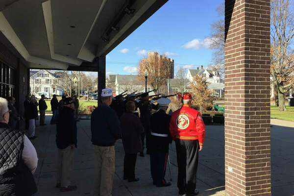 The annual ceremony marking the anniversary of the attack on Pearl Harbor was held Thursday in Torrington.
