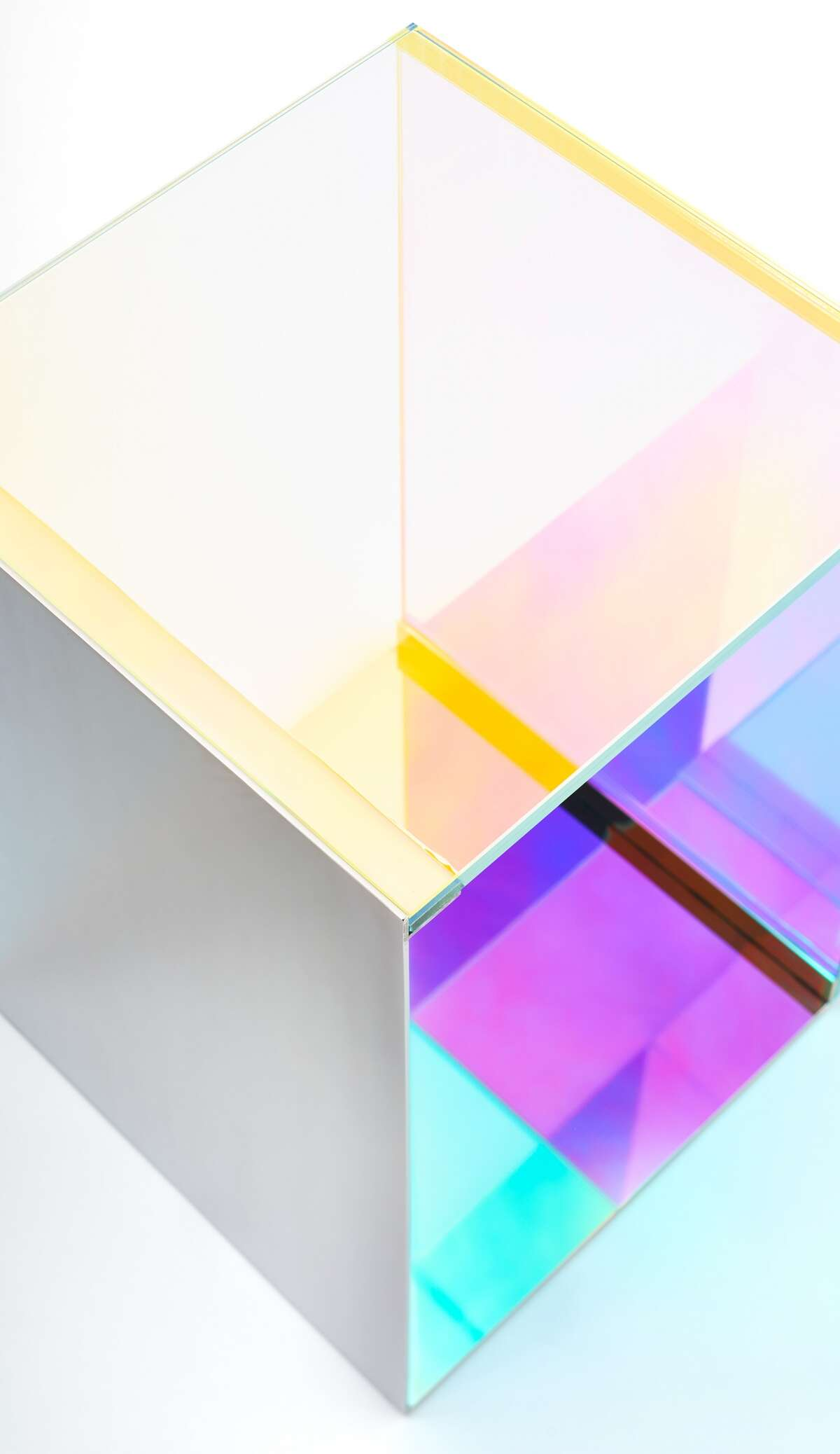 The Dichroic Table from Lauren Rottet's Rottet Collection has won