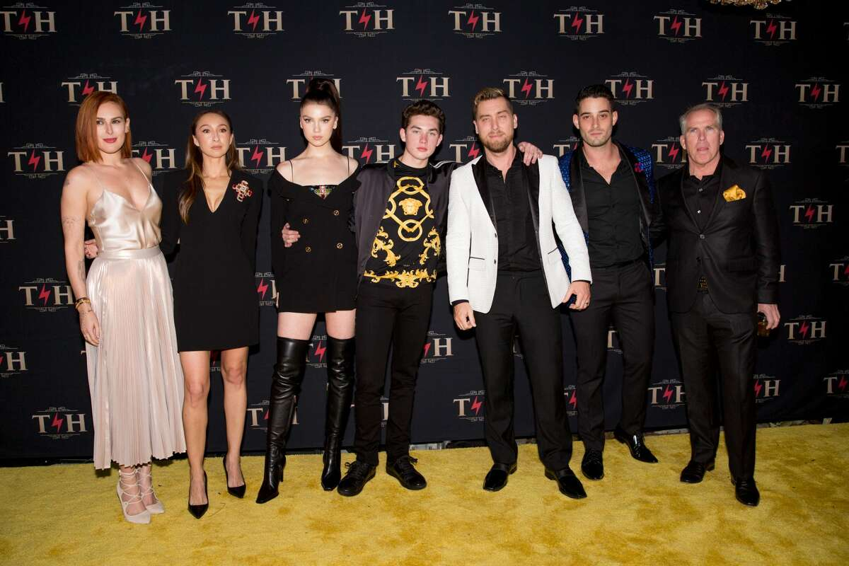 Empire star Rumer Willis, Lance Bass of N*Sync and hubby Michael Turchin enjoyed taking photos with the Henry family while attending Thomas Henry Jr.'s star-studded 4 million dollar birthday celebration at Hotel Discotheque over the weekend in San Antonio, TX. There were performances by Migos, a special DJ set by Diplo and DJ Ruckus, aerial performers, burlesque dancers, contortionists and more!