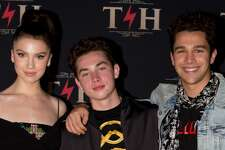 Pop sensation Austin Mahone was all smiles as he snapped photos with Thomas and Maya Henry at Thomas' star-studded 4 million dollar birthday celebration at Hotel Discotheque over the weekend in San Antonio, TX. There were performances by Migos and J Balvin, a special DJ set by Diplo and DJ Ruckus, aerial performers, burlesque dancers, contortionists and more!