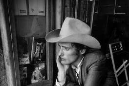 """Dennis Hopper on the set of """"The Last Movie,"""" an image from the documentary """"Along for the Ride."""""""