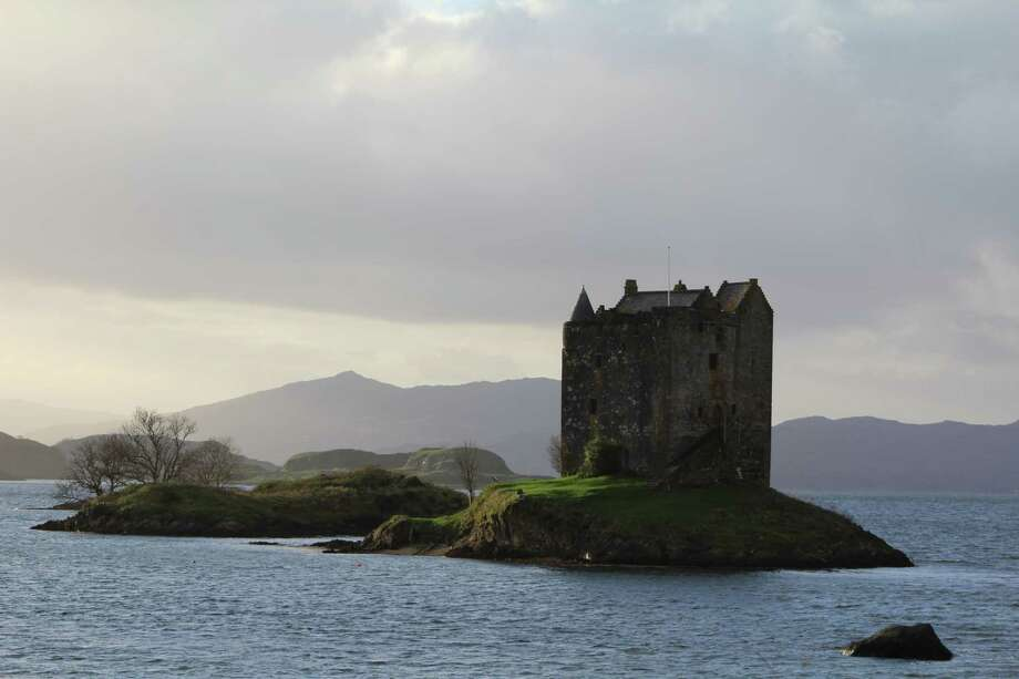 Castle Stalker, believed to have been built in the 1400s, was used for filming the last scene of iconic 'Monty Python and the Holy Grail.' The castle is located on the western coast of Scotland. (Photo by John Wallace, provided by Danielle Sanzone)