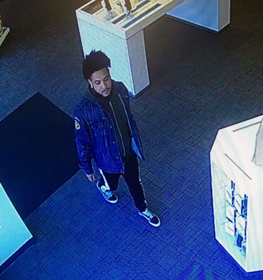 Police are looking for two suspects they say stole several iPhones from stores in Norwalk, Conn. Photo: Contributed Photo / Norwalk Police Department / Contributed Photo / Connecticut Post Contributed