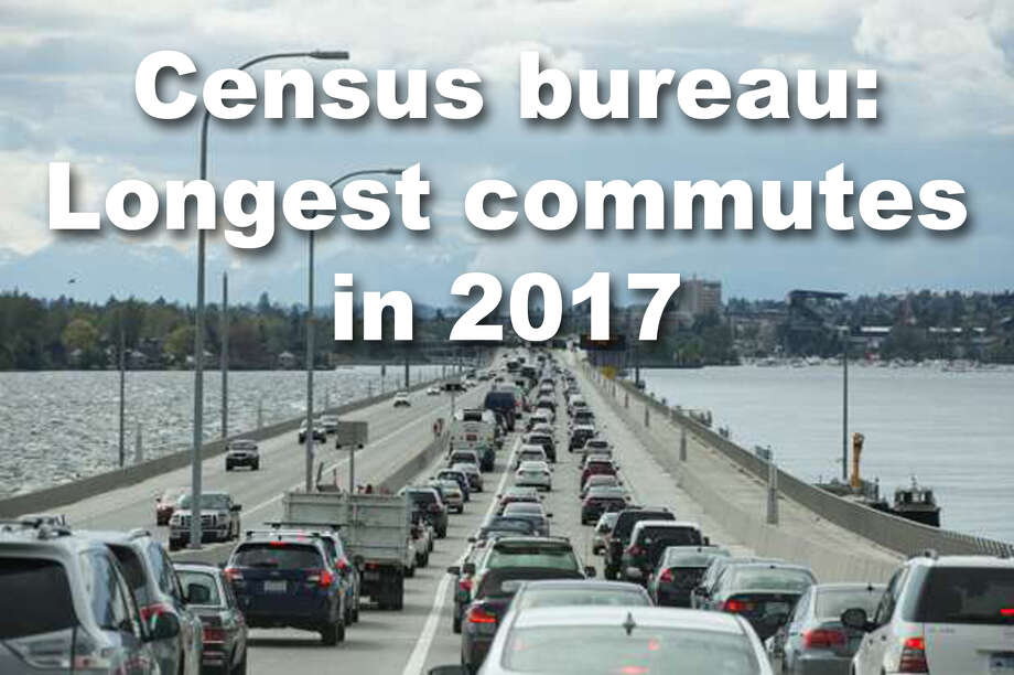 These are the longest commutes times, according to data from the Census Bureau's latest American Community Survey data. Photo: Grant Hindsley/SeattlePI