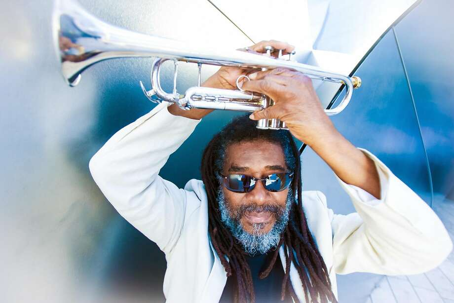 Wadada Leo Smith, an award-win ning trumpeter and Pulitzer Prize finalist, brings his Create Festival to the Lab in S.F. this weekend. Photo: Michael Jackson