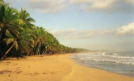 TRAVEL DOMINICAN REPUBLIC --  Playa Limon in the nature reserve Lagunas Redondo in the Dominican Republic, is seen in this undated photo. (AP Photo/Jim Krane)