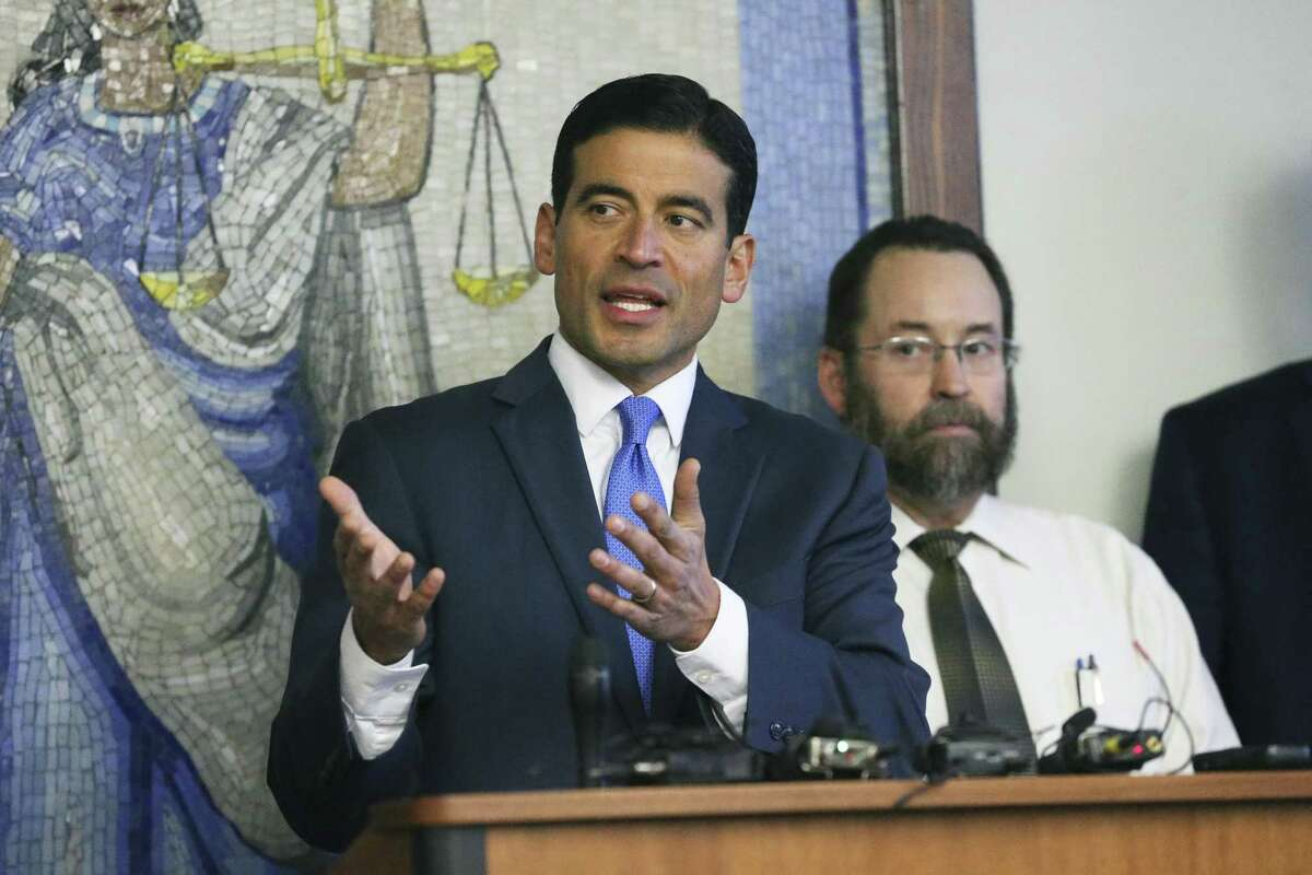 Bexar County District Attorney Nico LaHood, seen on Dec. 6, 2017, is running for re-election.