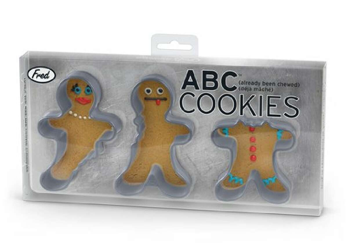 FRED ABC (Already Been Chewed) COOKIE CUTTERS