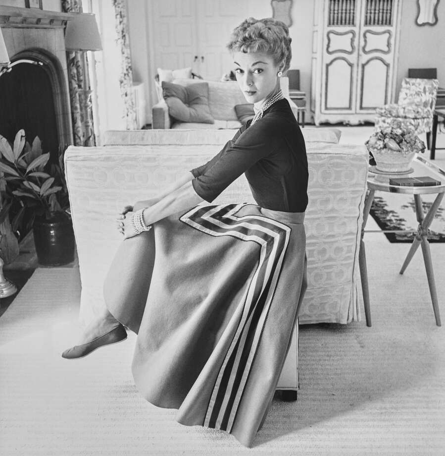 1952: Jean Patchett Photo: John Rawlings/Conde Nast Via Getty Images