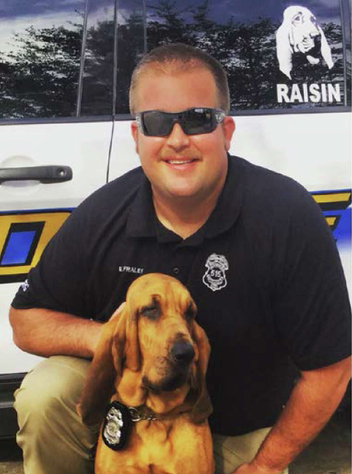 Off-duty Galveston police officer Evan Fraley, shot and killed 35-year-old Toni Collins, Thursday, March 9, 2017 in Galveston. Officer Evan Fraley was with his wife and child near 11th Street and Broadway Avenue J around 6 p.m. when he saw a disturbance, police said.
