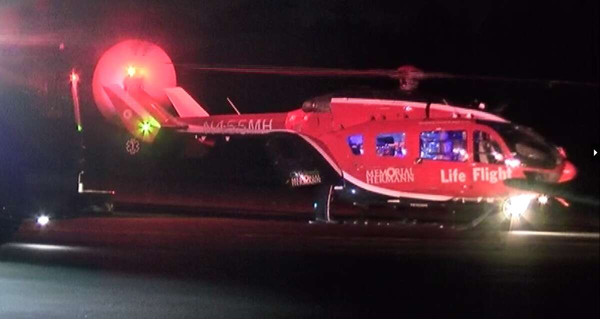 Medical helicopters were called in both incidents.