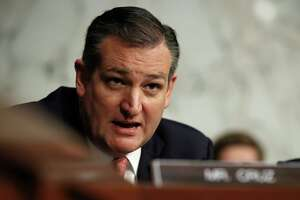 Sen. Ted Cruz, R-Texas, speaks during a Senate Judiciary Committee hearing on Capitol Hill in Washington, Wednesday, Dec. 6, 2017. (AP Photo/Carolyn Kaster)