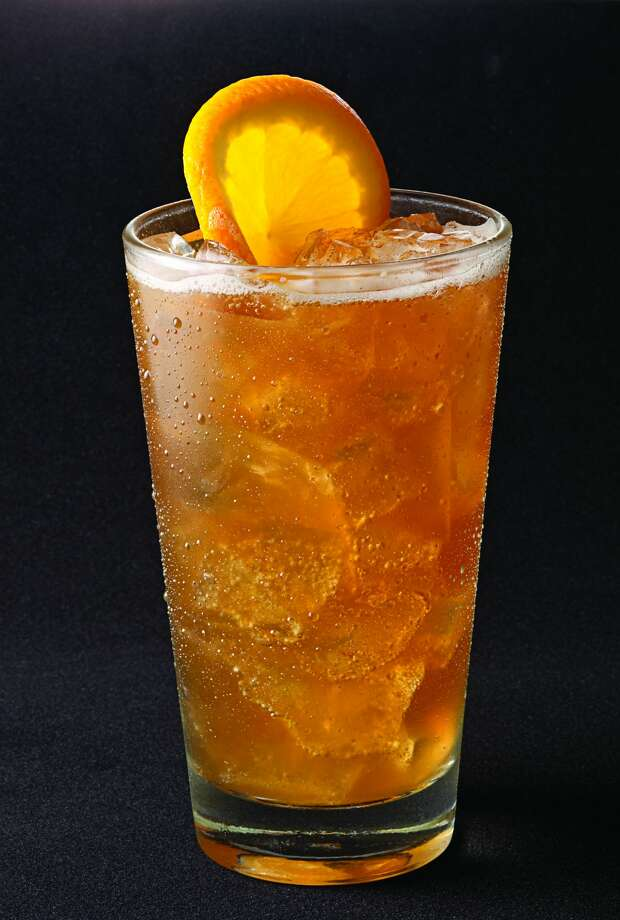 Spiked Sweet TeaRestaurant: Pappas Bar-B-QAirport: Hobby, before going through securityIngredients: The Spiked Sweet Tea is made with Firefly vodka, sweet tea, Cointreau and lemonade. Photo: Houston Airport System