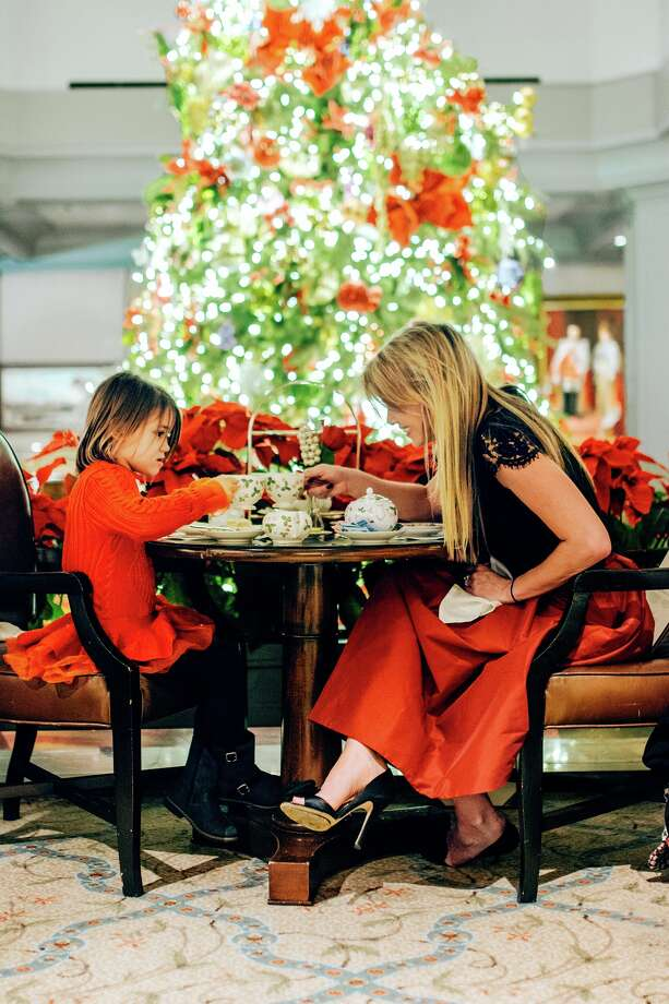 The Windsor Court Hotel in New Orleans is one of the city's grand hotels that decorates its lobby and public spaces for the Christmas season. The hotel also offers special room rates, holiday tea, and Reveillon dining. Photo: Windsor Court Hotel / 2016