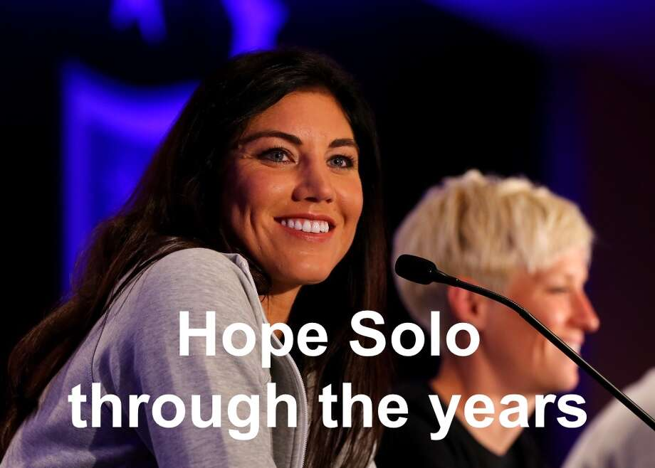 Hope Solo through the years. Photo: Getty Images