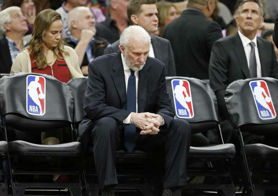 The Spurs announced Wednesday night, April 18, 2018, that Erin Popovich died earlier in the day. Photo: Edward A. Ornelas / San Antonio Express-News / © 2017 San Antonio Express-News