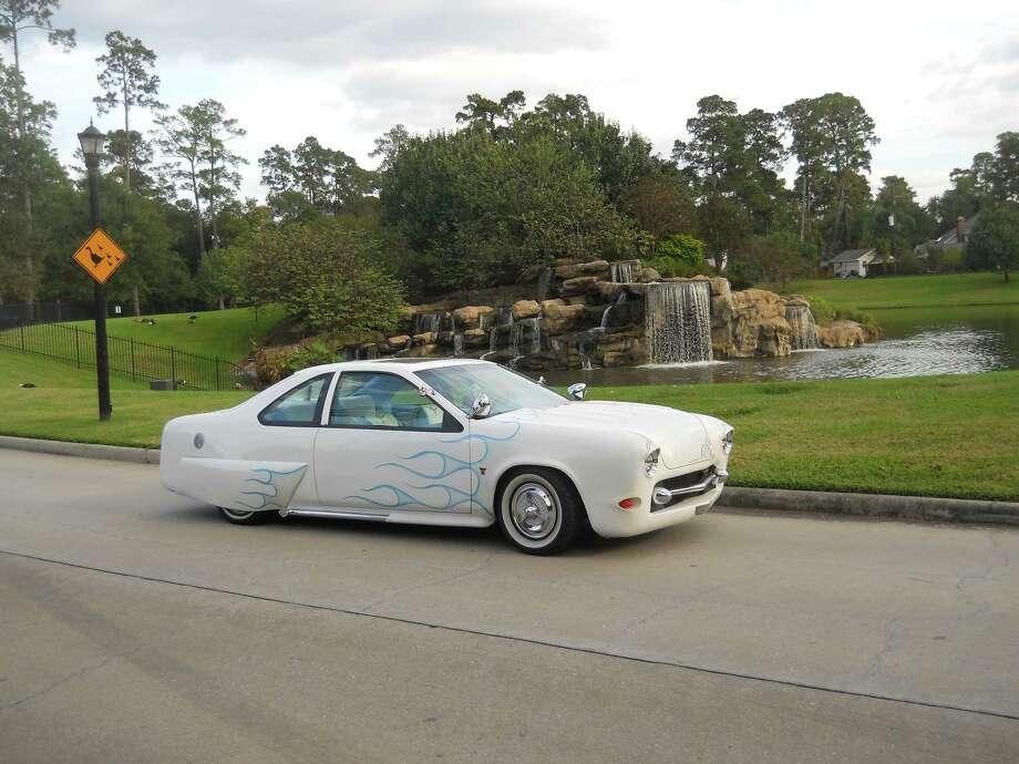 "The ""Mercillicabird"" is a custom-built car. Bob Kennedy is its third owner. Photo: Courtesy Of Bob Kennedy"