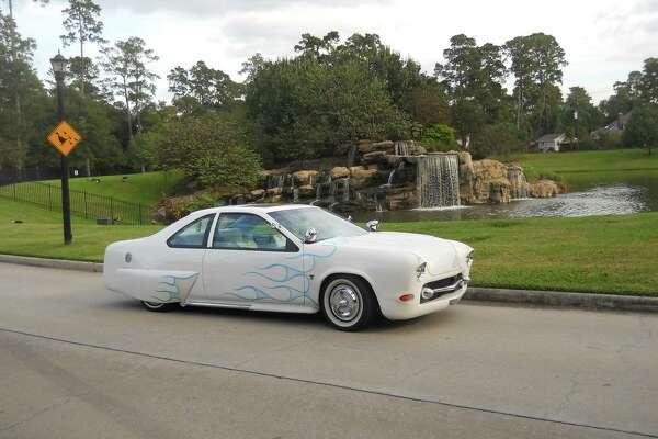 "The ""Mercillicabird"" is a custom-built car. Bob Kennedy is its third owner."