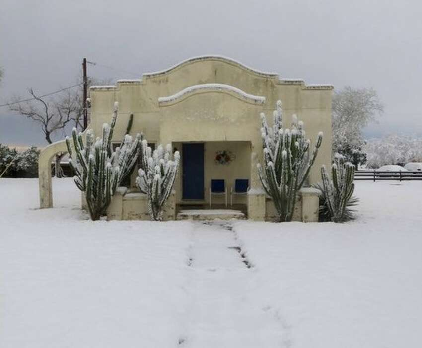 Kingsville measured 4.5 inches of snow.