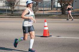 Erica Hunt takes part in the St. Judge's Memphis Marathon Weekend races.