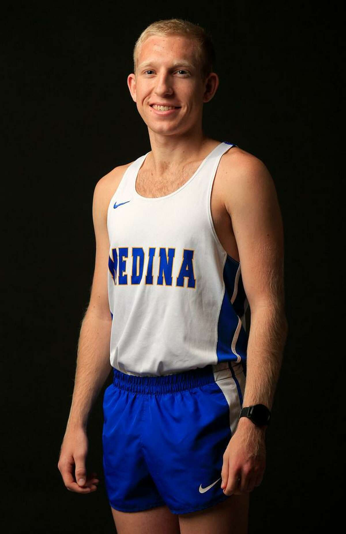 Austin Zirkel of Medina is the 2017 Express-News All-Area cross country Boys Athlete of the Year.