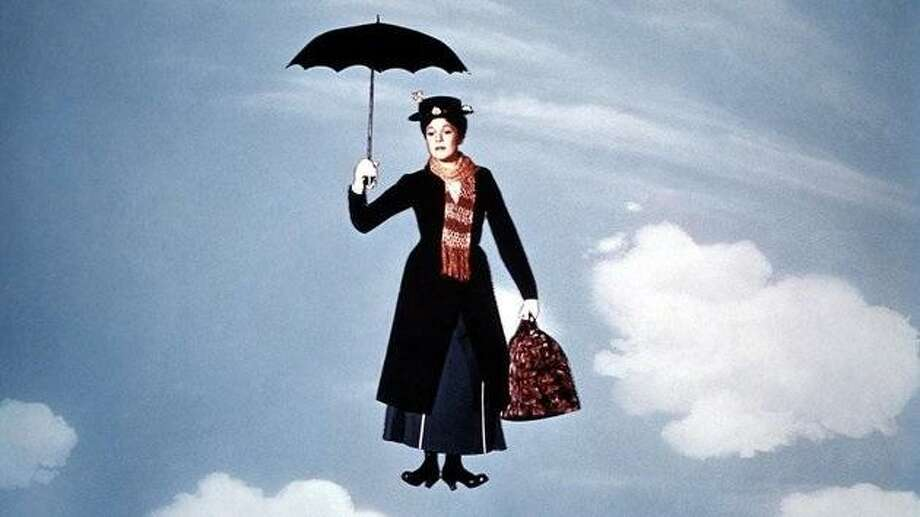 Mary Poppins proved that umbrellas have magical powers. Photo: Courtesy Photo