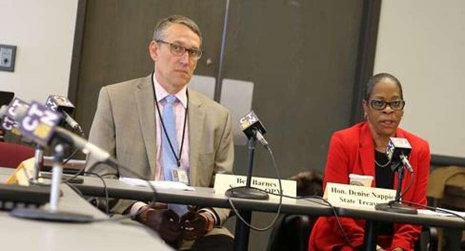 Ben Barnes and Denise Nappier co-chair the board. Photo: Christine Stuart / Ctnewsjunkie