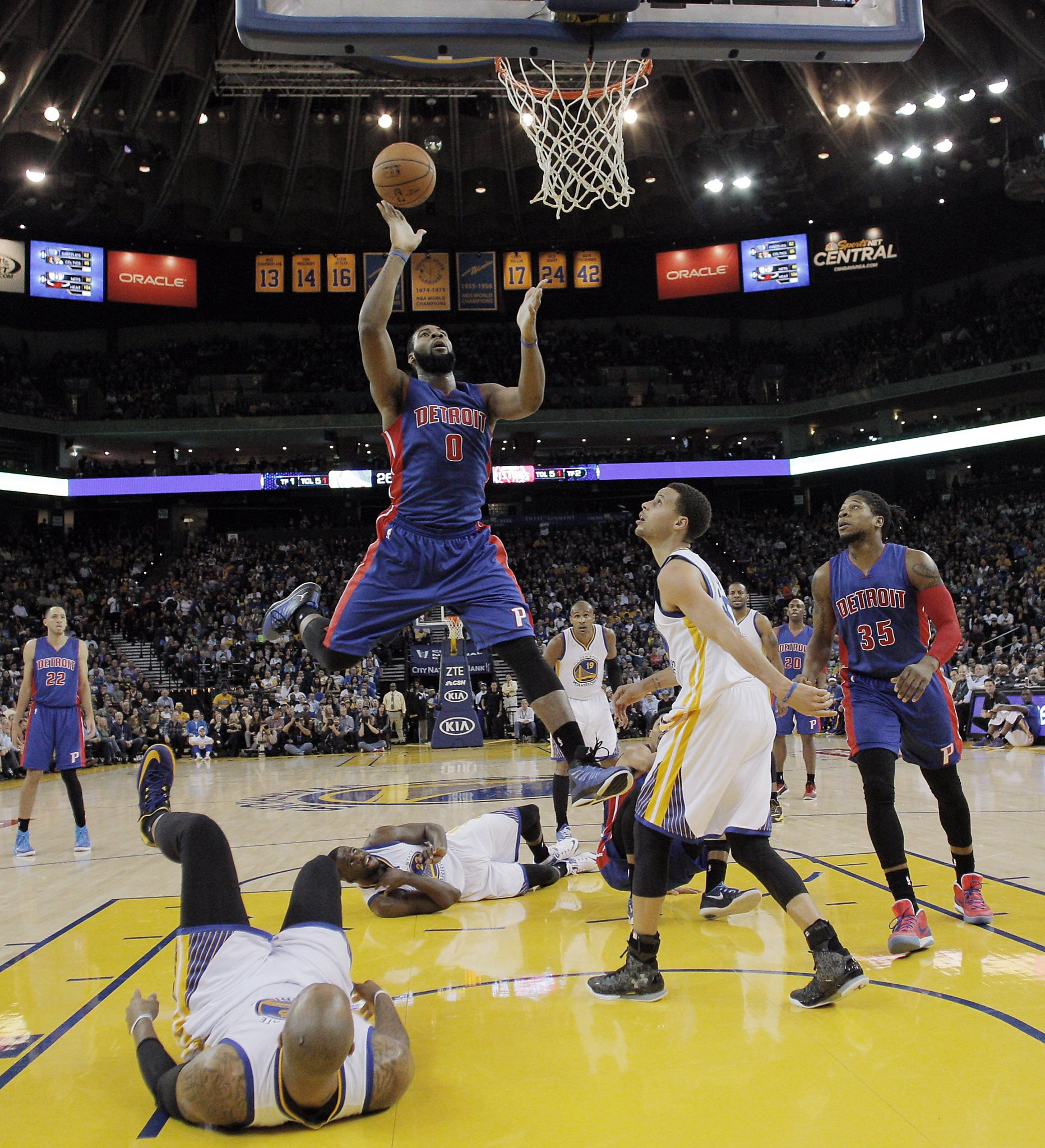 9620e11b6254 Warriors game day  Can Golden State contain Detroit s Andre Drummond  -  SFGate
