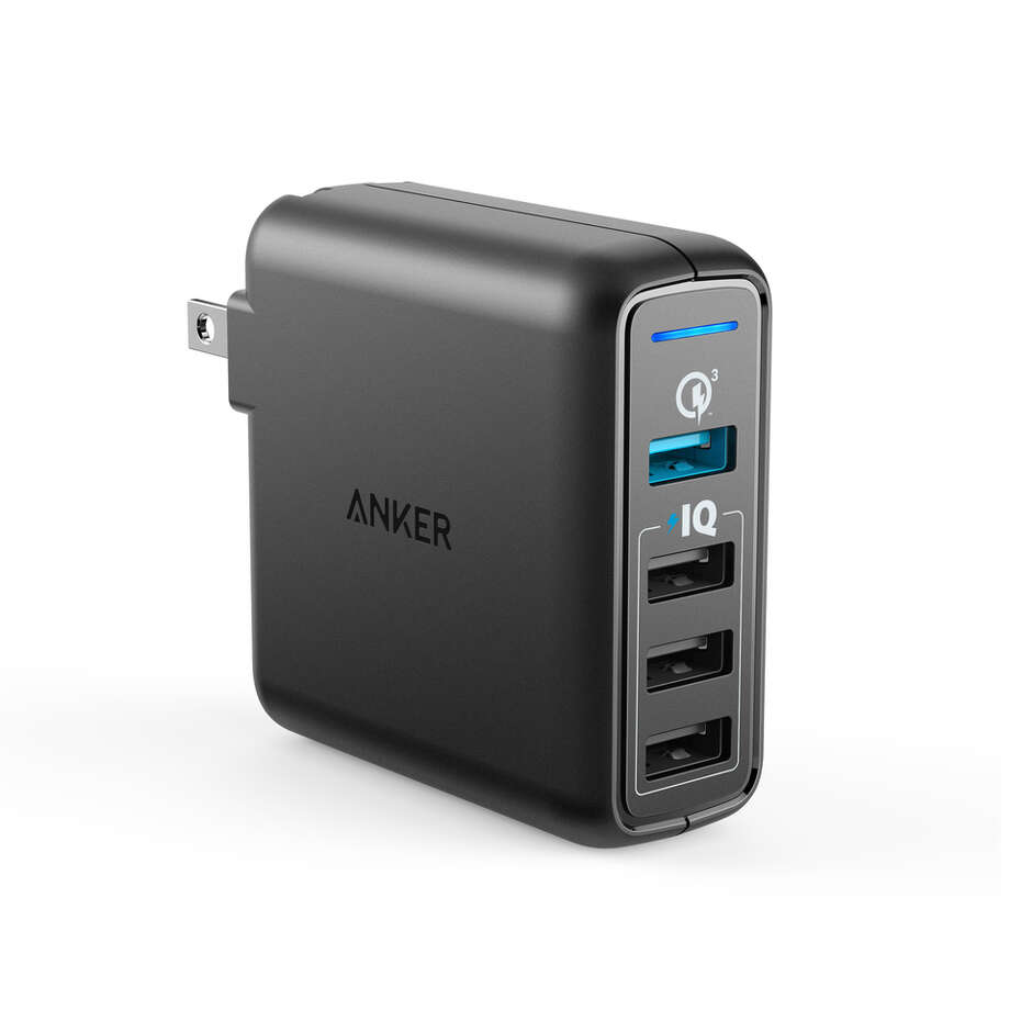 PowerPort Speed 4 Ports charger Photo: Anker