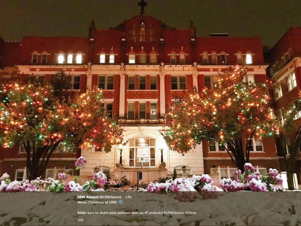 University of the Incarnate Word @UIWAlumni: White Christmas at UIW!