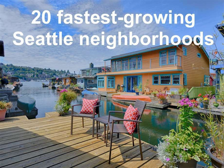 Which neighborhoods are forecasted to grow the most over the next year? Here's what Zillow's data said are the top 20: Photo:  Enrico Pozzo/Sotheby's