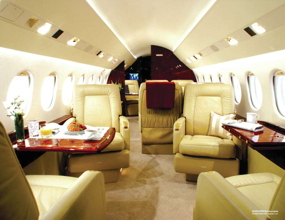 Houston-based TapJets allows customers to instantly book a private jet with their smartphone. Photo: TapJets