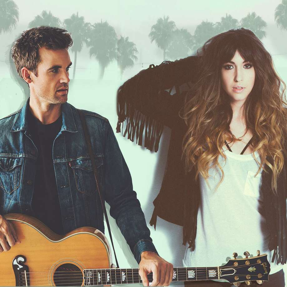 """""""One Tree Hill"""" actors Tyler Hilton and Kate Voegele perform their music in a show called """"One Tree Holiday"""" at Daryl's House in Pawling, N.Y., on Dec. 17, and at Fairfield Theatre Company's StageOne on Dec. 20. Photo: Supreme Entertainment Artists / Contributed Photo"""