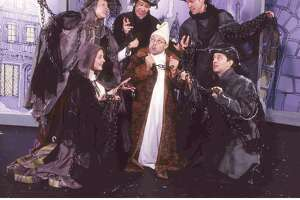"""""""A Christmas Carol,"""" especially designed for children, will be presented by TheatreWorks USA at the Westport Country Playhouse at two performances on Dec. 17."""