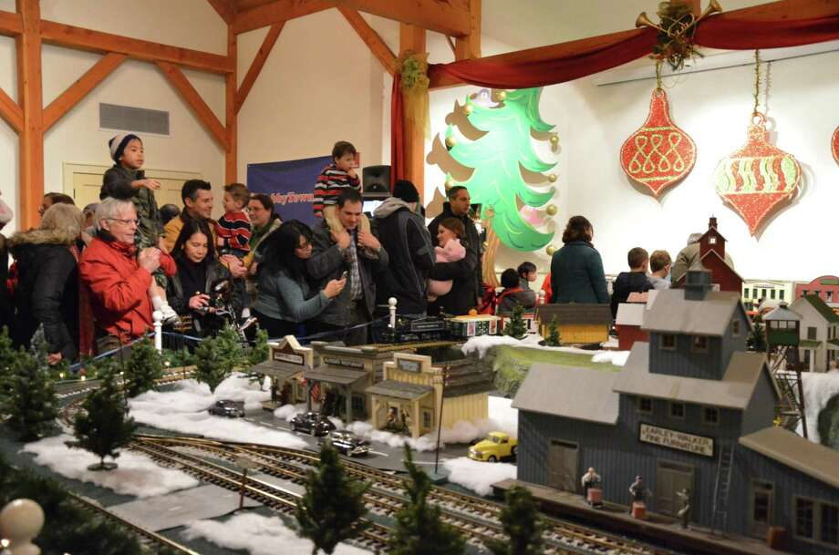 The Holiday Express Train Show will run through Jan. 7 at the Fairfield Museum & History Center. Photo: Fairfield Museum / Contributed Photo