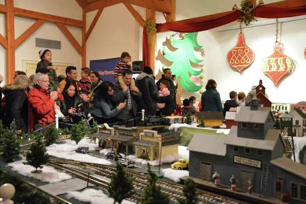 The Holiday Express Train Show will run through Jan. 7 at the Fairfield Museum & History Center.