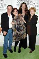 Todd Fisher, Debbie Reynolds, Carrie Fisher and Joely Fisher attend(s) Special Premiere of HBO's Documentary WISHFUL DRINKING at Linwood Dunn Theatre on December 7th, 2010 in New York City.