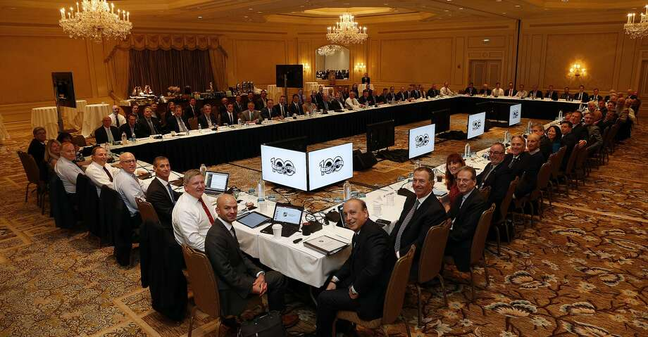 MANALAPAN, FL - DECEMBER 7: The NHL ruling and governing body meets at the NHL Board of Governors meeting on December 7, 2017 in Manalapan, Florida. (Photo by Eliot J. Schechter/NHLI via Getty Images) Photo: Eliot J. Schechter/NHLI Via Getty Images