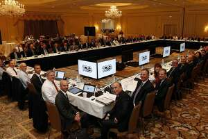 MANALAPAN, FL - DECEMBER 7: The NHL ruling and governing body meets at the NHL Board of Governors meeting on December 7, 2017 in Manalapan, Florida. (Photo by Eliot J. Schechter/NHLI via Getty Images)