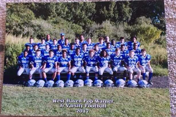 The Ray Tellier Midget Football League's West Haven Seahawks junior varsity team, which won the Pop Warner New England Region championship last week, is headed to Disney's ESPN Wide World of Sports Complex inOrlando, Fla. for the Pop Warner national championships. First up, the Seahawks will take onSan Jose, Calif.'s Almaden Mustangs at 4 p.m. Saturday to see who advances to the next round.
