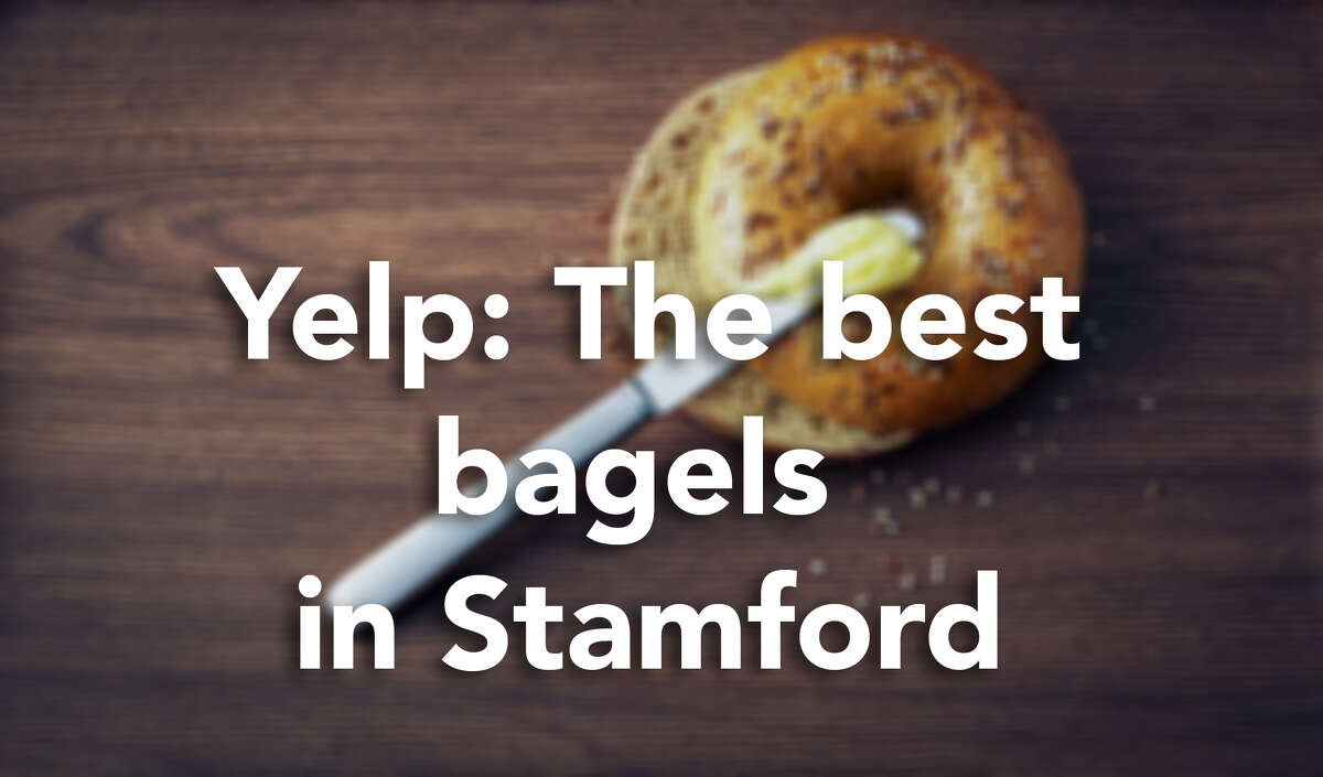 Click through for the best bagels in Stamford, according to Yelp users.